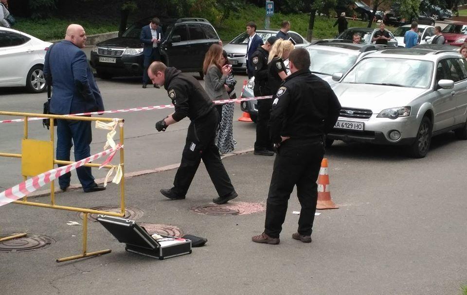 «Восемь пуль в упор…»: В центре Киева произошла кровавая перестрелка