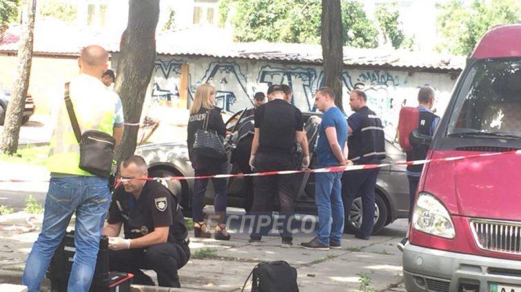 Вел наблюдение во дворе дома: В Киеве расстреляли полицейского