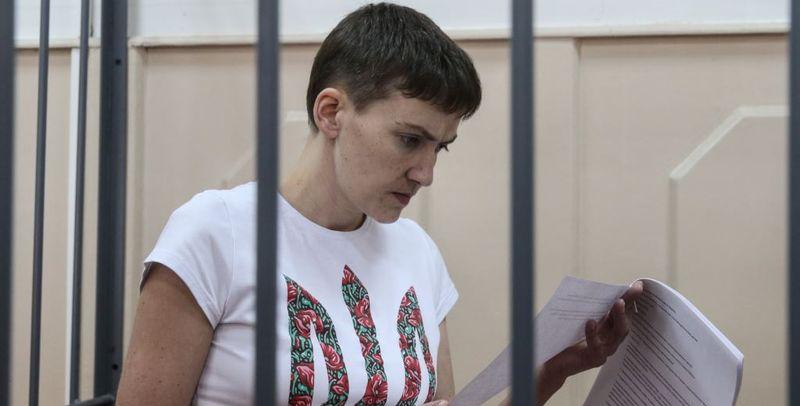 «Из-за беззакония и преступных действий»: Савченко снова объявила голодовку