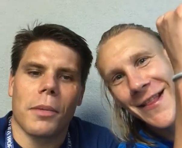 «Грозит дисквалификация и штраф»:На Хорватских футболистов, посвятивших победу Украине, россияне пожаловались вФИФА
