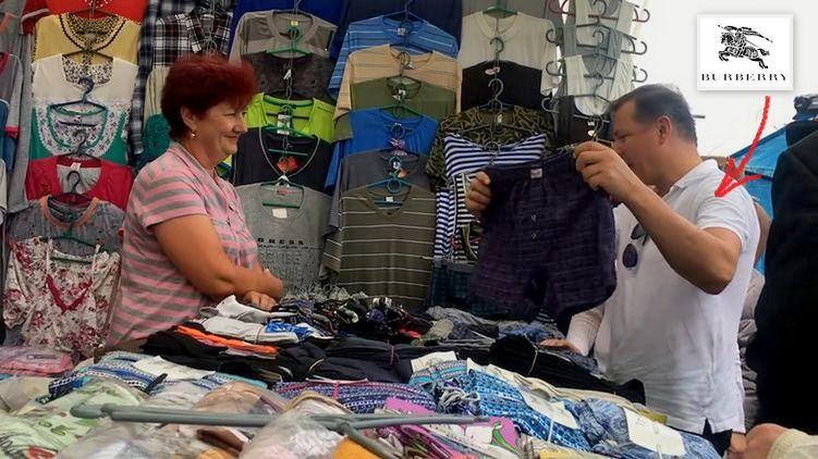«Это просто издевательство над украинцами» Ляшко снова опозорился, покупая трусы на рынке