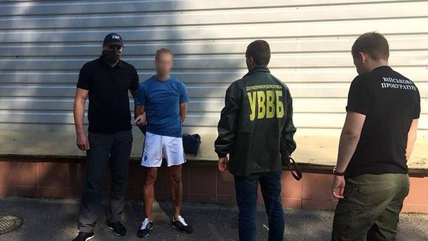 «Требовал пять тысяч долларов»: В Харькове на взятке задержали пограничника