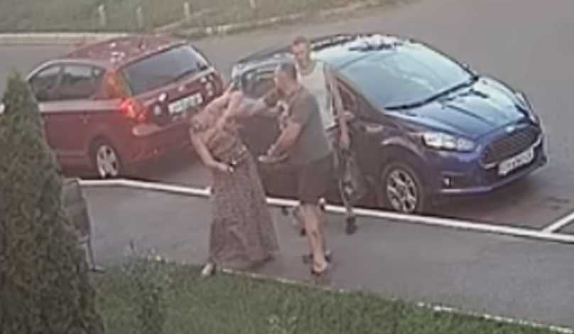 «Попросила взять собаку на поводок»: В центре Киева народный депутат побил женщину
