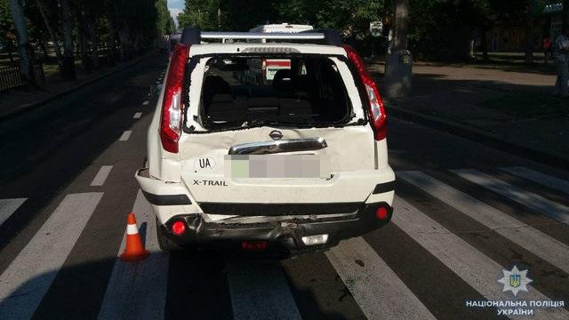 В Николаеве маршрутка столкнулась с автомобилем: много пострадавших