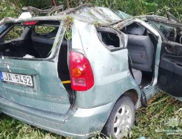 На полном ходу автомобиль вылетел с моста в кювет: Во Львовской области в ДТП пострадали четверо иностранцев