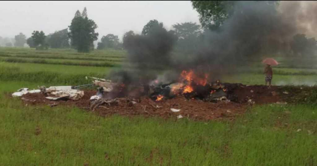 Разбился вертолет с журналистами: погибли четыре человека
