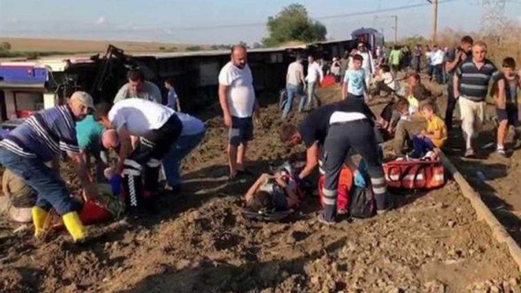 Много раненых и погибших: Жуткая авария поезда, первые кадры катастрофы