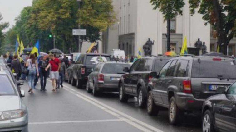 Начинается еще один «Майдан»? Активисты на «евробляхах» озвучили свои требования