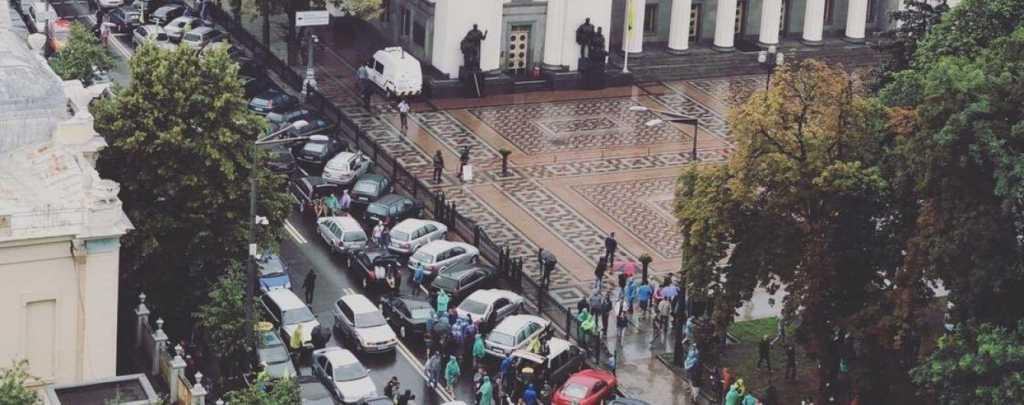 Центр Киева заблокирован: проходит масштабная акция, что требуют митингующие