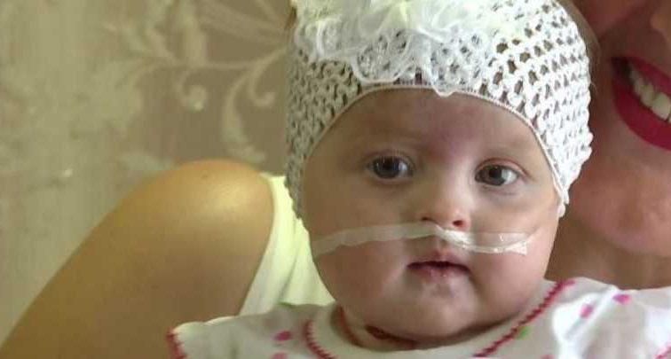 Ей всего 5 месяцев: Маленькая Евангелинка нуждается в вашей помощи, чтобы преодолеть тяжелое заболевание