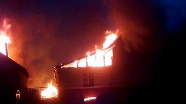 «Подозревают поджог»: На Закарпатье сгорел цыганский дошкольное учреждение