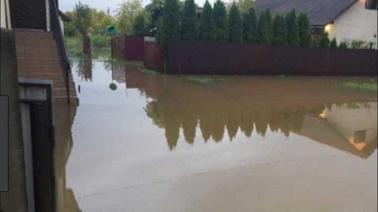«Залило все, в домах плавают ковры»: В Сети показали подтопленный микрорайон министра Ревы