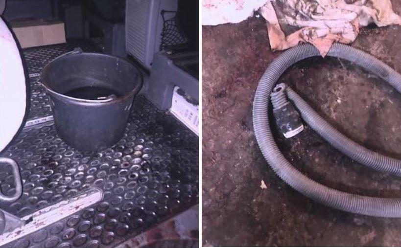 Украинский нардеп показал фото с места убийства своего сына