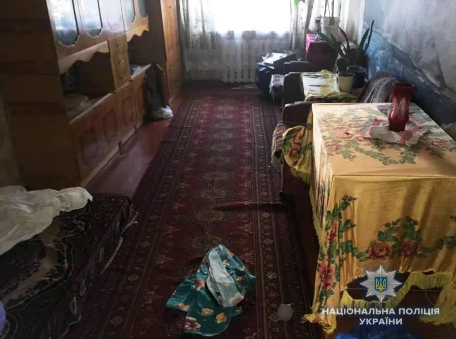 На Киевщине мужчина порезал женщину кухонным ножом