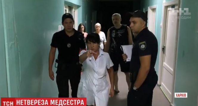 Пьяная медсестра устроила дебош в детской больнице. Родителям пришлось вызвать полицию