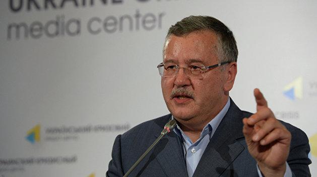 «Саакашвили нам здесь не нужен»: Гриценко сделал скандальное заявление