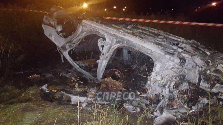 После трагического ДТП мужчина заживо сгорел в машине потому, что полицейский его бросил
