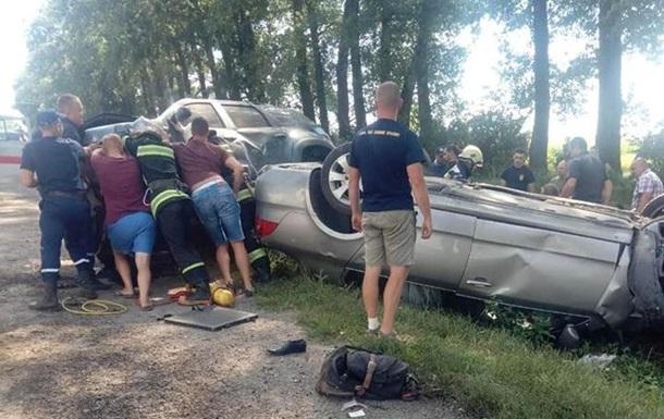 Масштабная авария в Тернопольской области. Пострадали дети