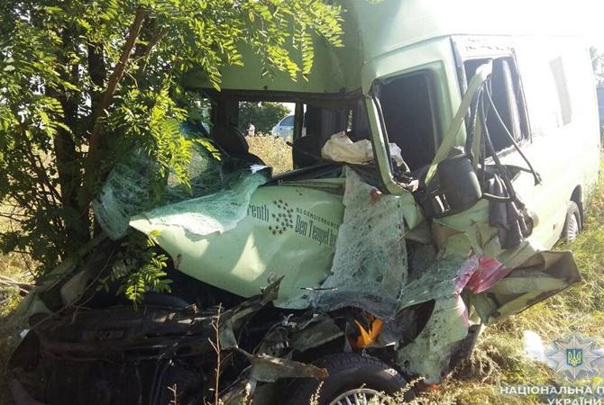 Не справился с управлением: В Одесской области автобус с туристами попал в жуткую ДТП