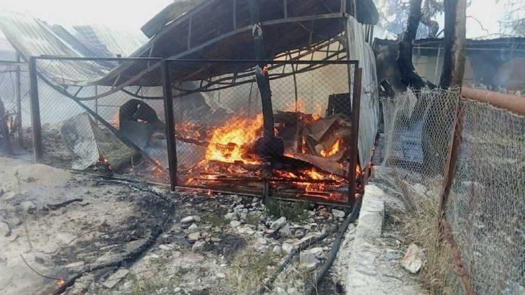 На известном украинском курорте произошел масштабный пожар, есть пострадавшие