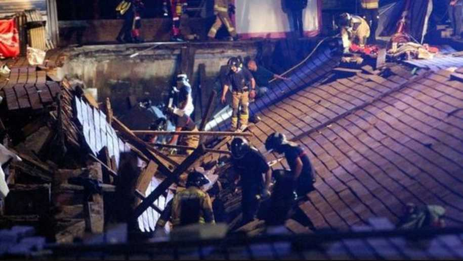 На концерте упала платформа: множество пострадавших, среди них подростки