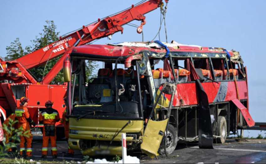 ДТП в Польше: Число пострадавших возросло, один в тяжелом состоянии