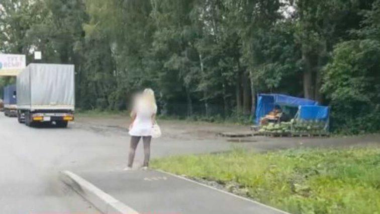 «Пока мать» работала «, девочка оставалась сама на трассе»: Львовянка привлекала внимание клиентов собственным ребенком