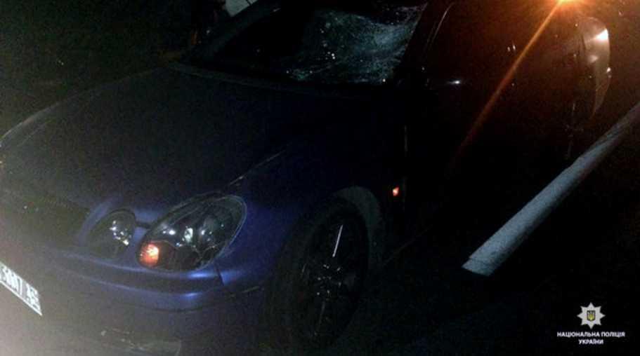 В Харькове под колесами автомобиля Lexus трагически погиб пешеход