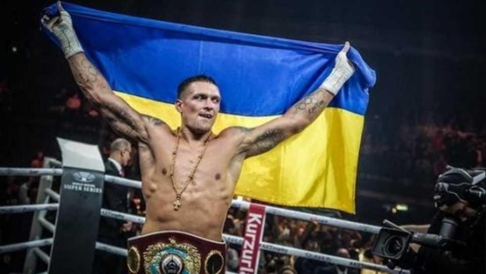 «Не надо мне ничего давать, потому что я ничего у вас не прошу»: Усик отказался от звания Героя Украины