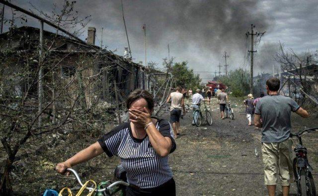 Трагедия в День Независимости: вражеские боевики обстреляли мирных жителей