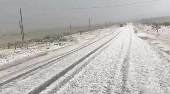 В самый разгар сезона в Турции выпал снег. Первые подробности