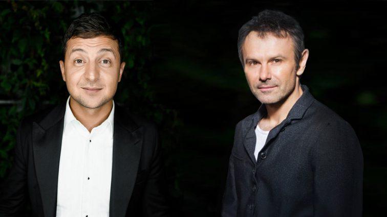 Вакарчук и Зеленский неожиданно приблизились к Тимошенко и Порошенко