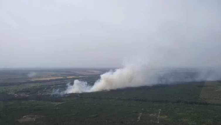 Летели, чтобы погасить пожар: В Харькове разбился вертолет со спасателями