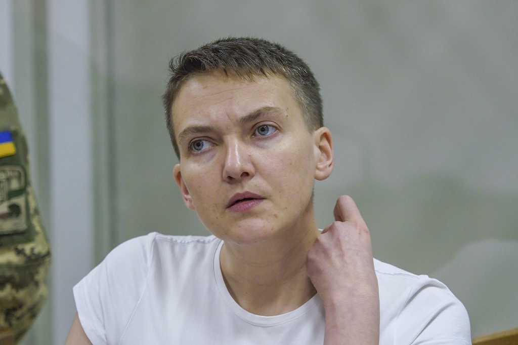 «Признали законными действия Верховной Рады»: Суд отказался вернуть Савченко неприкосновенность