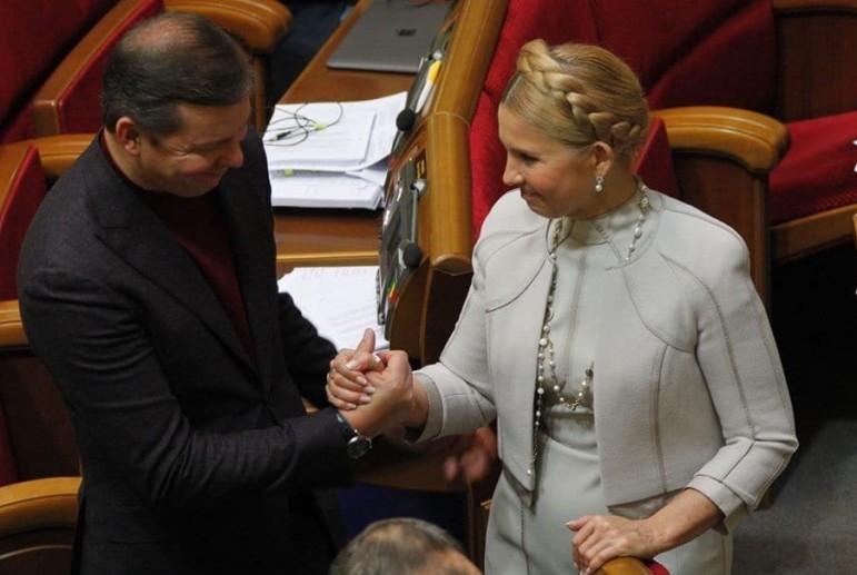 Тюрьмой пугают Ляшко, но основания бояться есть только у Тимошенко — заявление Эксперта