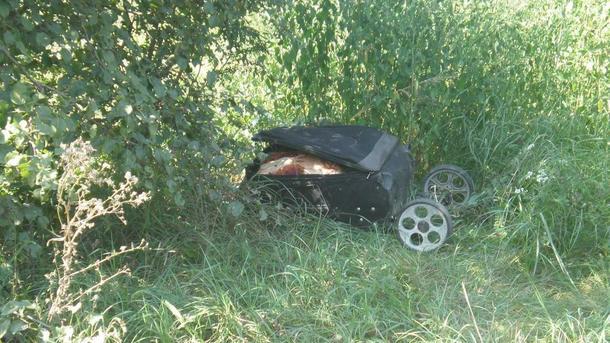 Попала под горячую руку мужа: Под Киевом нашли чемодан с расчлененным телом женщины