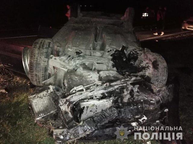 Жуткая ДТП на Львовщине: Автогмобиль на большой скорости вылетел в кювет, есть жертвы