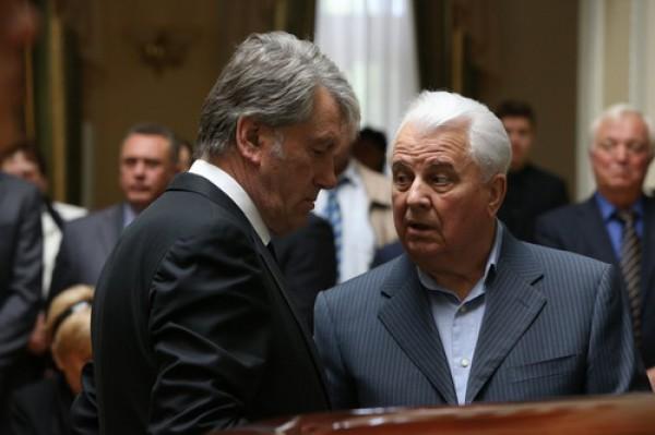Ющенко и Кучма поддержали нового кандидата в президенты