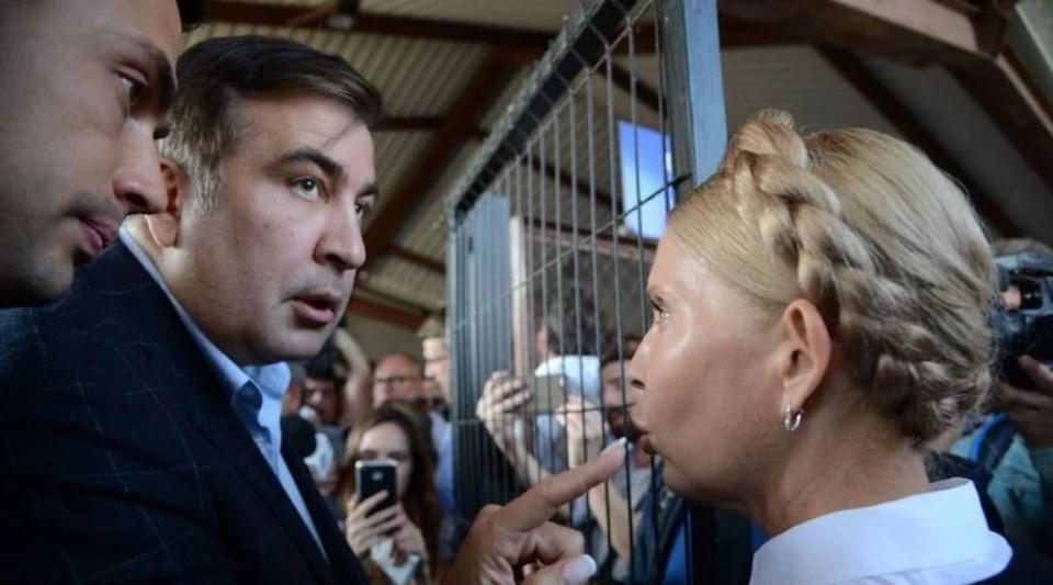 Тимошенко и Рабиновича объединила общая идея. Саакашвили против?!
