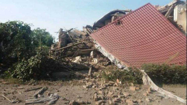 Сравнил с землей: мощный взрыв полностью разбил жилой дом