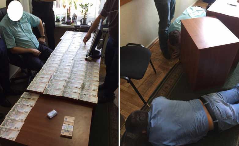 На взятке 150 тыс. грн задержали влиятельного чиновника