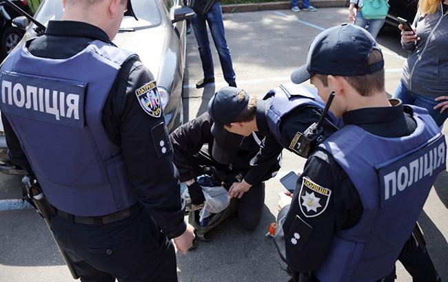Пострадали женщина с ребенком: в Киеве совершили расправу над «евробляхером», который стал причиной ДТП