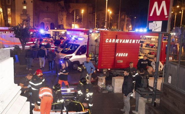 ЧП в римском метро: пострадали украинцы, первые подробности