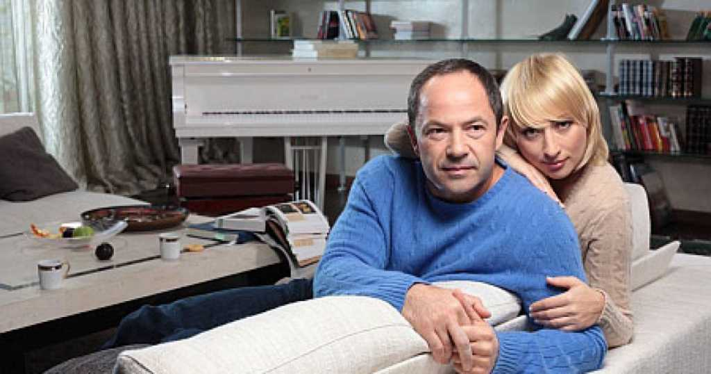 Одиозный политик Сергей Тигипко разводится со своей женой Викторией