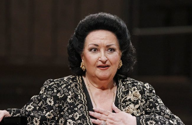 Умерла легендарная певица Монсеррат Кабалье