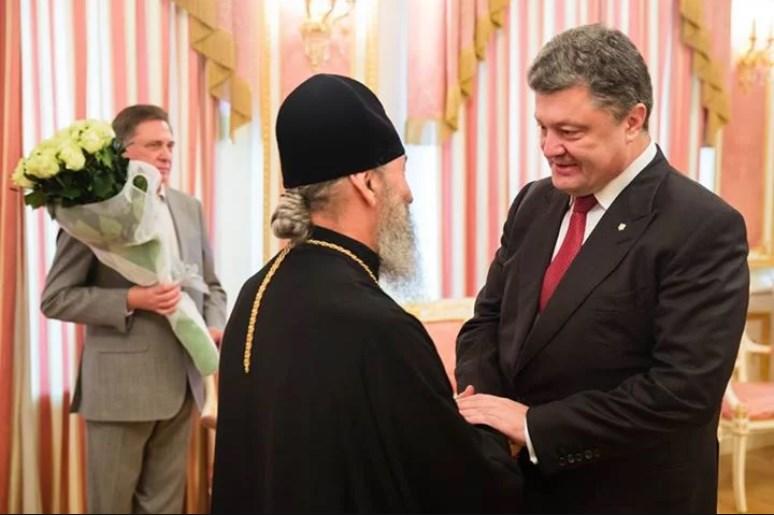 Порошенко просил Онуфрия не начинать акций протеста: Что ответил митрополит Московского патриархата