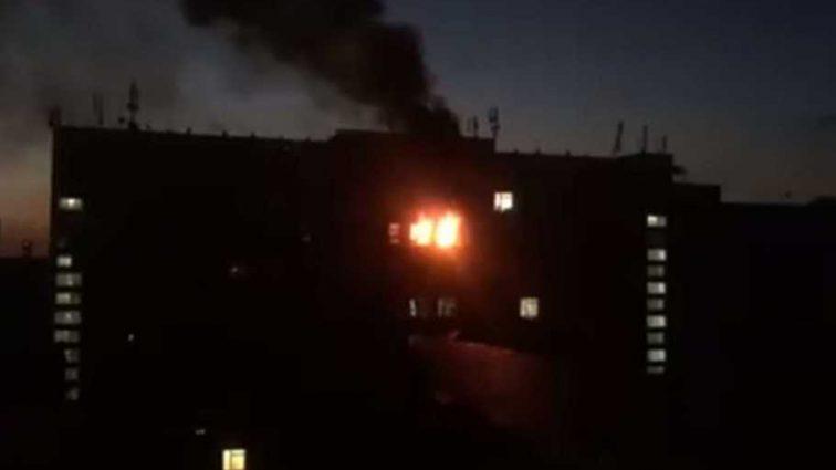 Горела лаборатория: в Киеве произошел пожар в институте