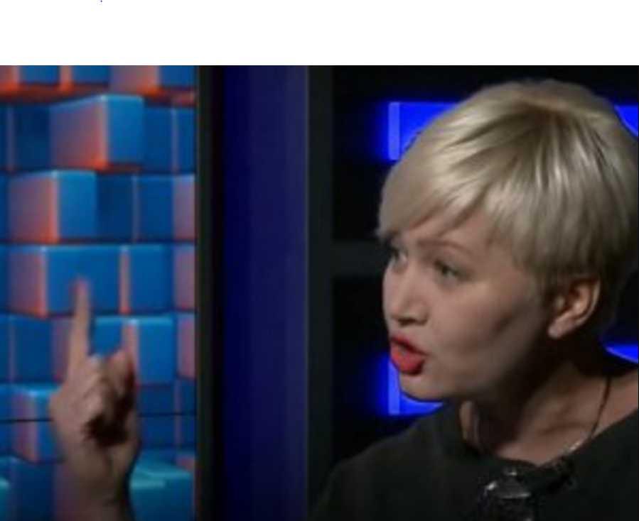 «Вы не будете указывать мне»: Ницой поскандалила с ведущей в прямом эфире