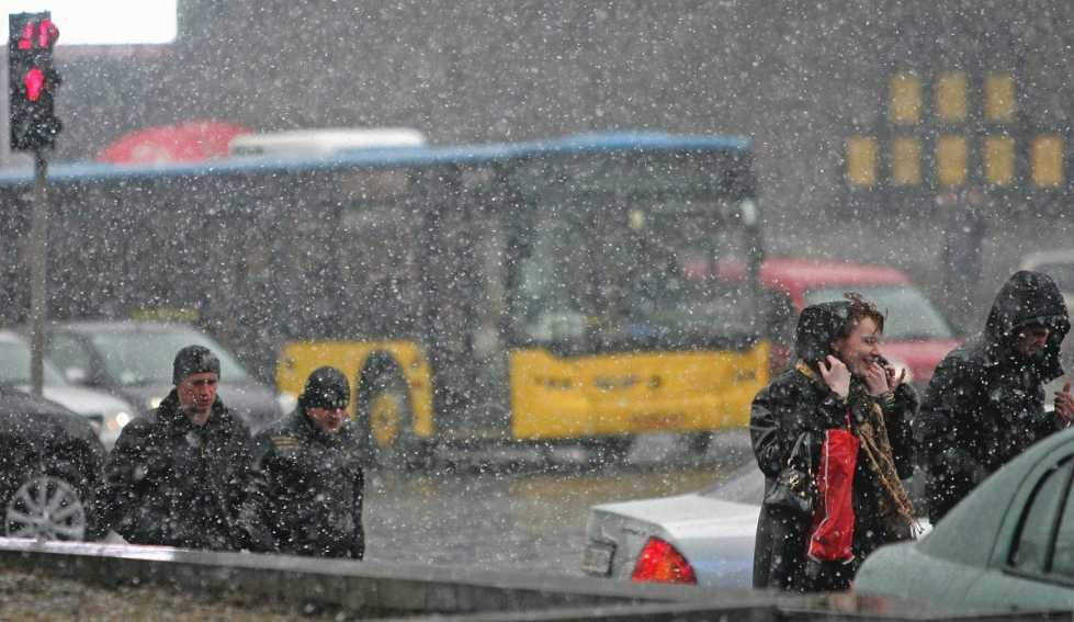 Вытягивайте пуховики: синоптики обещают на выходные дождь, снег и солнце