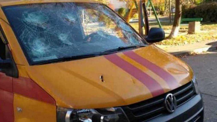 Отомстил! Мужчина разбил машину горгаза из-за отключения газа в доме